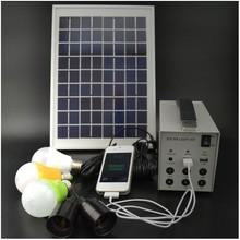 DC power lead acid 7AH portable solar power generator for home