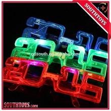 2015 party led glasses plastic flashing glasses toy glasses