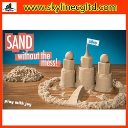 New fashion educational kids toys hot sale kinetic sand dynamic sand DIY sand