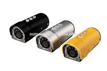 High quality mini hd digital video camera for sports recording