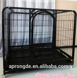 Indoor Metal Weld Mesh Dog Kennel / Cage