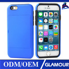 telefono movil chinese cell covers for iphone 6 plus double protective pc+silicone case