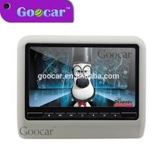 Super slim 10 inch widesreen HD TFT - LCD cheap headrest dvd player