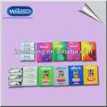 China preservativo OEM personalizado seu logotipo preservativo