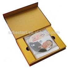 book shape dvd gift box