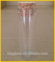 20 ml Dia.30mm heigt 109 mm de borosilicato transparente cilíndrico decorativo botella de vidrio prueba botella con corcho