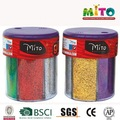 Craft metálica glitter em 6 cores garrafa shaker