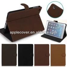 Retro Design Leather Case for iPad Mini 2 with book design