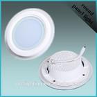 China Wholesale 15watt glass round led panel light