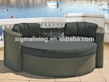 2015 Deluxe Elegant Garden Double Couple Chaise Lounge