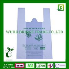 Compostable plastic shopper bags