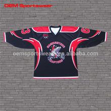 OEM Service Supply Type customized hockey jersey