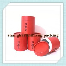 Very popular red color paper gift round box packaging