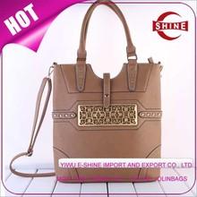 2015 china new product tote bag fashion lady handbag women hand bag