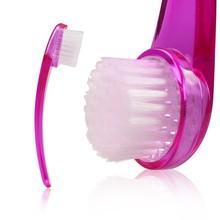Long Handle Manual Facial Cleansing Brush Skin Care Tool at Factory Price