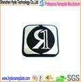 fabricante famoso logotipo do metal etiqueta da marca