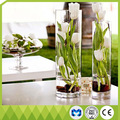 Decoração de casamento jardineira do casamento vaso cilíndrico 30 cm casamento vaso