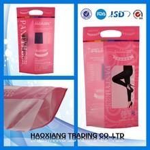 2015 New Style Good Quality Eco-friendly Fashion Custom Plastic Bag zip lock standing pouch