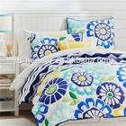 Alternative Down Yellow Purple Patchwork Comforter Set On Sale