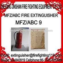 3kg ABC dry powder fire extinguisher