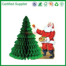 Party Accessory Centerpiece Santa w Tissue Tree