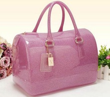 Hot Selling New Design Fashion Rubber silicone handbag for ladies tote Bag