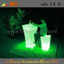 led pool table/led coffee table/led furniture led table led chairs