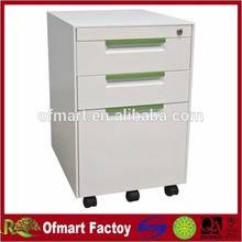 2015 new design pedestal filing cabinet 3 drawers