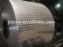 embossed aluminum alloy sheet for ship/boats/trucks