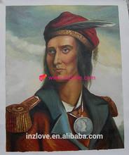 artist made custom oil painting indian