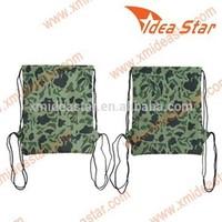 M4 AM005 cool design camo drawstring backpack