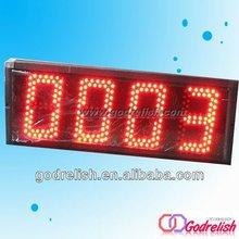 caliente venta de barra de bar iluminado led eléctrico contador de impulsos