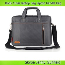 Cross body strap or Handle neoprene laptop bag for macbook air pro 13 15 inch
