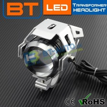 NEW design motocycle projector 9-80V 10W 6000K-6500K 3000LM 12v projector head lights led projector light