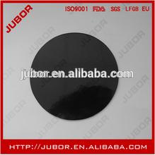 Round Cardboard Black Paper Cake Circles