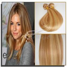 Silk straight p27 613 indian human hair wholesale virgin indian hair weave