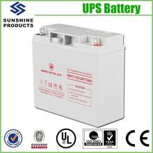 Sealed Lead Acid 20Hr 12V 17Ah Exide Battery