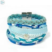 2015 New Style Fashion Handmade Wholesale Cheap Brazilian African Woven Bracelet