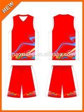 2015 wally design custom transfer printing basketball uniform