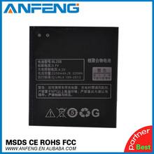 gb t18287-2000 standard cell phone 3.7v 2250mAh battery BL208 for Lenovo S920