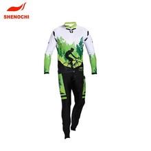 guangzhou supplier custom cheap road bike man suit