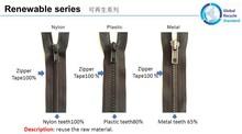 GRS ZIPPER(Global Recycle Standard)