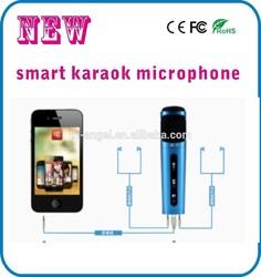 Portable Mini karaoke microphone for mobile phone/laptop