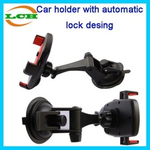 Automatic lock with rotated design universal car hold for mobile phone