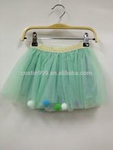 Girls tutu short dresses tulle dresses puffy skirts