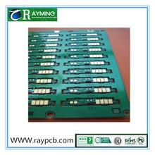 "EING(Au 2u"" Ni 150u"") surface treatment 0.8mm board thickness,6-layered, RoHS compliance"