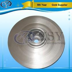 custom precision casting centrifugal pump stainless steel impeller