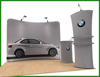 Durable flyer display stand for advertising printing/Arc type,size:3140*2300mm