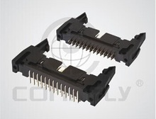 DS1011 series connectors 2.54mm SHROUNDED HEADER BIG LATCH TYPE (SQUARE PIN)