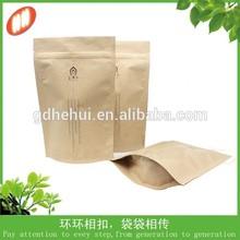 hot sales eco friendly nutual kraft paper bag for tea packaging